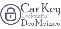 CAR KEY LOCKSMITH DES MOINES IA logo